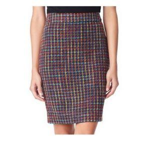 Kate Spade New York Colorful Jury Tweed Skirt